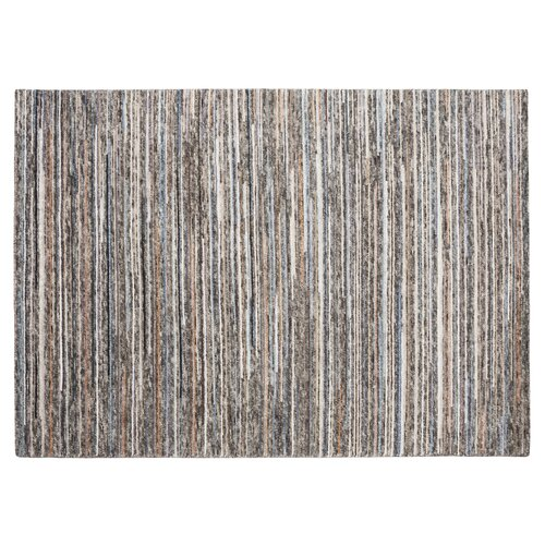 Abner Hand-Knotted Grey Rug Bloomsbury Market Rug size: Runn