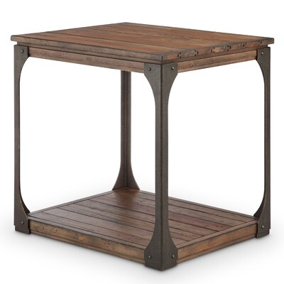 17 Stories Aradhya Wood End Table