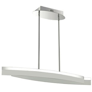 Orren Ellis Crater 2-Light LED Kitchen Island Pendant