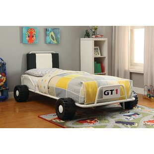 Compare Hazlehurst Twin Car Bed by Zoomie Kids Reviews (2019) & Buyer's Guide