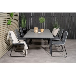 Aldwick 6 Seater Dining Set By Sol 72 Outdoor