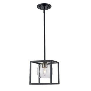 Tinley 1-Light Lantern Pendant by Ivy Bronx