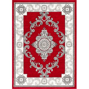 Ash Yonderhill Traditional Red Indoor Area Rug byWell Woven