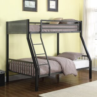Wellfleet Contemporary Twin Over Full Bunk Configuration Bed with Ladder