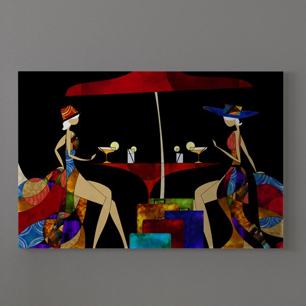 World Menagerie Beauty Of Color 5 Contemporary Abstract African American Graphic Art Print On Canvas Wayfair