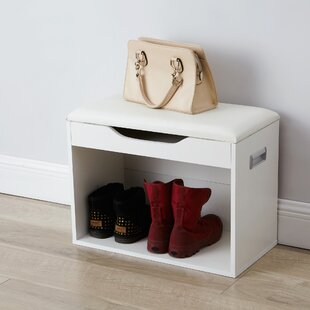 Jere Compact Storage Bench by Ebern Designs