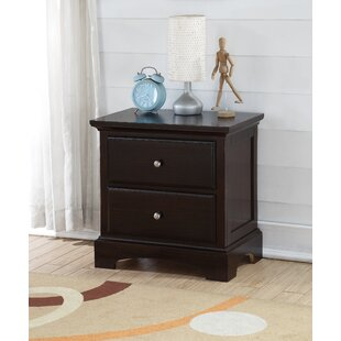 Latonya 2 Drawer Nightstand by Harriet Bee
