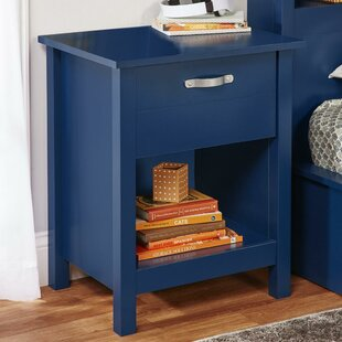Mikel 1 Drawer Nightstand by Viv + Rae