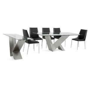 Cargo Stainless Steel Dining Set by Orren..