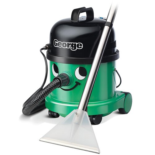 NUMATIC George Hoover GVE370 3-in-1 Cylinder Wet & Dry Vacuum Cleaner - Green & Black, Green