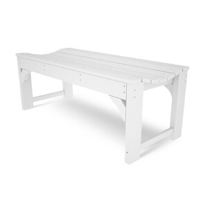 Traditional Plastic Garden Bench by POLYWOOD?