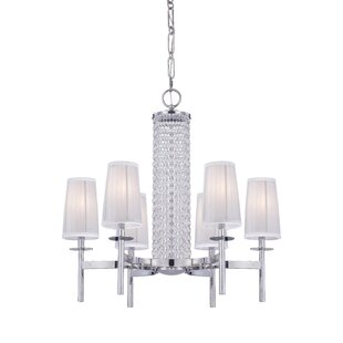 Designers Fountain Candence 6-Light Shaded Chandelier
