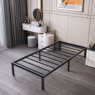 Engles 14 Steel Bed Frame by 17 Stories