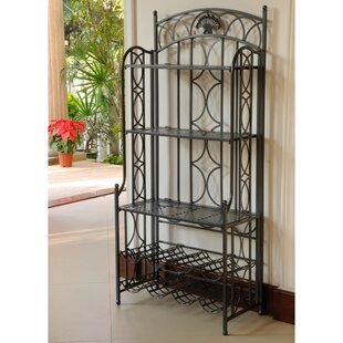 Darby Home Co Liberty Hill Iron Baker's Rack