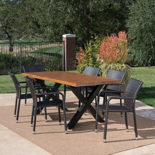 Mangold Outdoor 7 Piece Dining Set