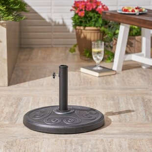 Heuser Outdoor Concrete Free Standing Umbrella Base