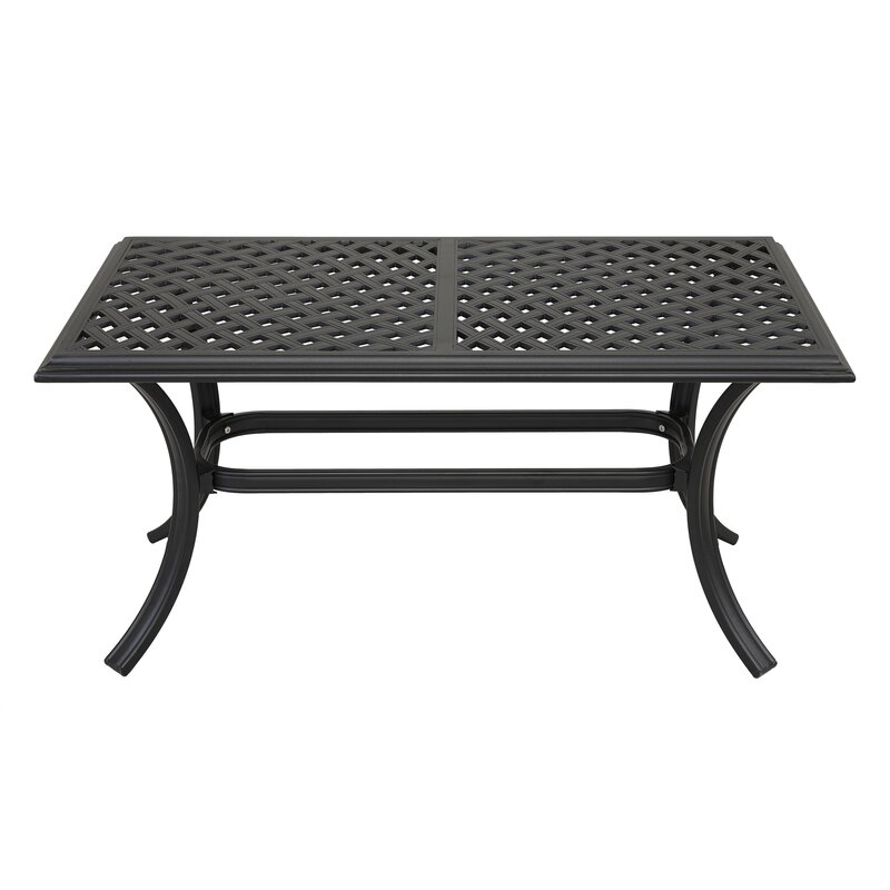 Darby Home Co Dalessio Standard Aluminum Coffee Table Reviews Wayfair