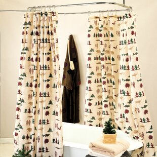 Look for Northern Exposure Shower Curtain By True Grit