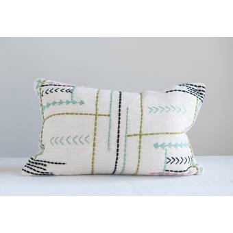 Bungalow Rose Kuruova Cotton 20 Throw Pillow Wayfair