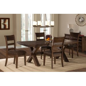 Burnsdale 5 Piece Dining Set by Loon Peak