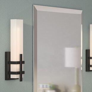Best Charybdis 1-Light LED Flush Mount By Orren Ellis
