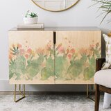 Cactus Credenza by East Urban Home