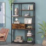 Delafuente 70.86'' H x 39.37'' W Standard Bookcase by 17 Stories