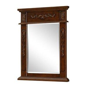 Ambudkar Rectangle Wood Vanity MirrorVanity Mirrors   Wayfair. Mirror Size For 36 Vanity. Home Design Ideas