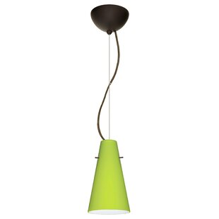 Besa Lighting Cierro 1-Light Cone Pendant