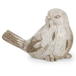 Menlo Garden Bird Figurine by August Grove