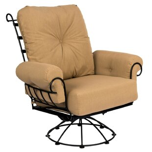 Terrace Swivel Rocking Chair with Cushions by Woodard