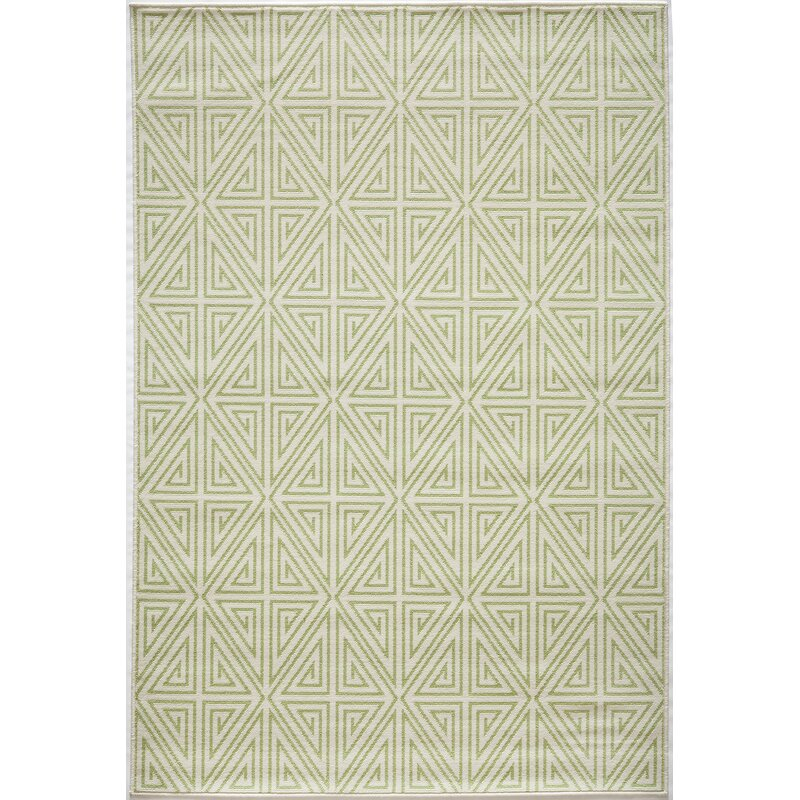 Lime Green Outdoor Area Rug: Beachcrest Home Halliday Lime Green Indoor/Outdoor Area