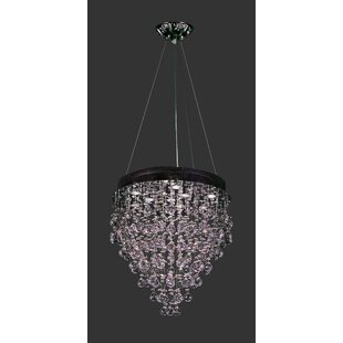 Andromeda 10-Light Crystal Chandelier by Classic Lighting