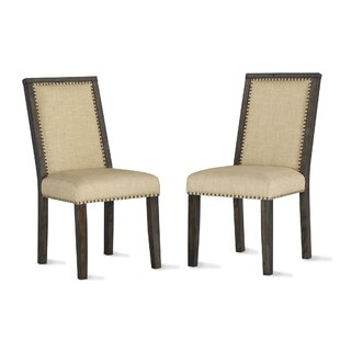Compare & Buy Rochel Upholstered Dining Chair (Set of 2) by Gracie Oaks Reviews (2019) & Buyer's Guide
