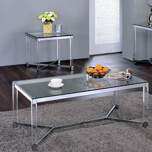 Orren Ellis Aquila 2 Piece Coffee Table Set