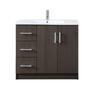 Great Price Gambrel 35 Single Bathroom Vanity By Wrought Studio