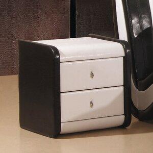 Nachttisch Holborn mit 2 Schubladen von Heartlands Furniture