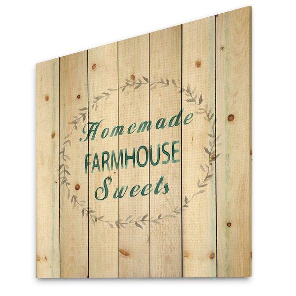 Farmhouse Floral Wall Art Wayfair