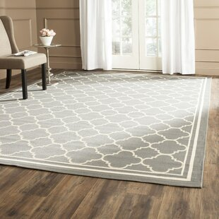 Herefordshire Anthracite & Beige Indoor/Outdoor Area Rug