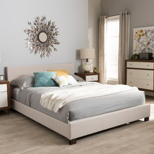 Wholesale Interiors Rico Upholstered Platform Bed