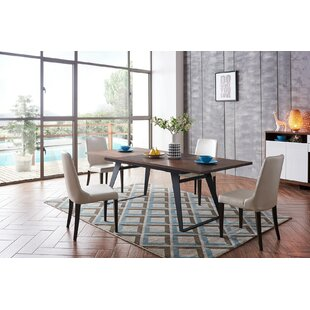 Alayziah 5 Piece Extendable Dining Set Brayden Studio