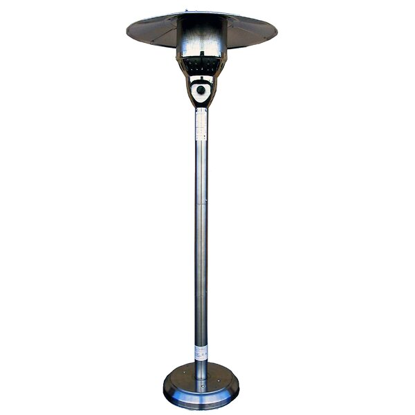 AZ Patio Heaters 41,000 BTU Natural Gas Patio Heater U0026 Reviews | Wayfair