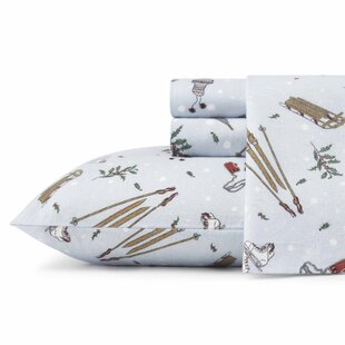Snow Days Flannel Sheet Set