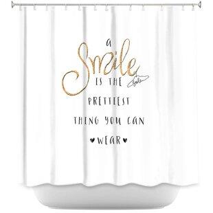 Silver Sparkle Shower Curtain Wayfair