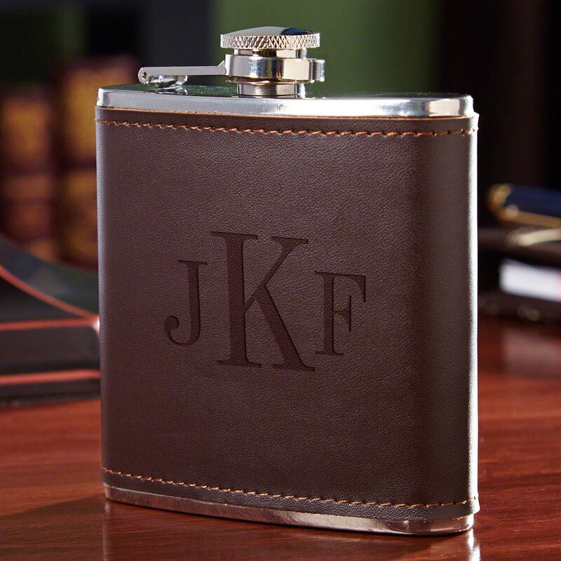 Fitzgerald Personalized Flask