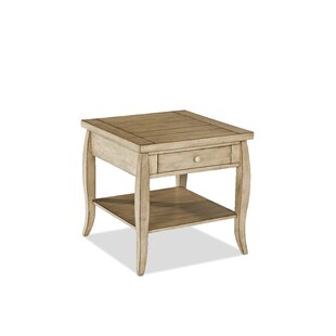 Reviews Glen Valley End Table by Klaussner Furniture
