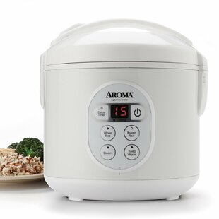 Midea 8 Cup Cool-Touch Rice Cooker