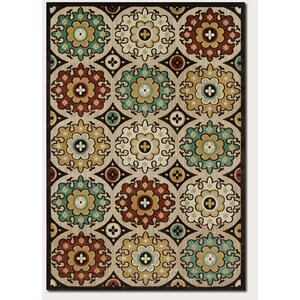 Ferry Ivory Indoor/Outdoor Area Rug