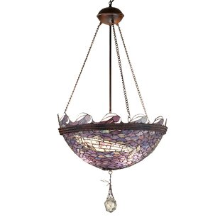 Astoria Grand Gallup 3-Light Bowl Pendant