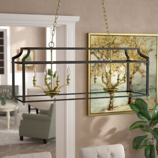 Darby Home Co Bartley Linear 8-Light Kitchen Island Pendant